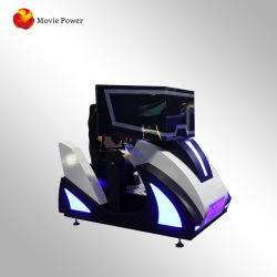 Реальные ощущения высокой скорости 3 экранов Racing симулятор вождения автомобиля