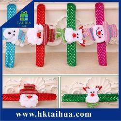 Le Père Noël Bonhomme de neige Bear gifle Bracelets part Clap LED Bracelet Slap enfants adultes