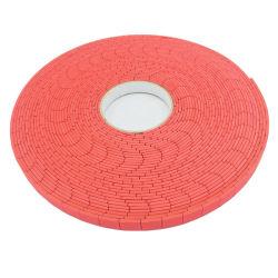 EVA de color rojo de la serie de electrodos: E250510 -25mm*25mm*5mm de EVA+1mm de espuma de PVC se aferran