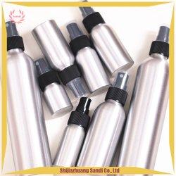 Frasco de perfume Spray de névoa de alumínio com tampa