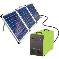 für Haupt5kw weg Rasterfeld PV-von der hybriden Ausgangs-PV-Inverter-Batterie-Energie-Systems-Energien-Bank-Produkt-Sonnenenergie-Scheibe