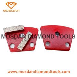 Le béton de meulage barres Double disques diamant pour l'Asl broyeurs