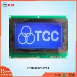 22-Polig 240X128/240128 Grafik-Display-Modus T6963 LCD-Controller-Modul Blau/Grau/Gelb Grün