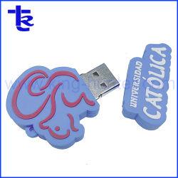 Unidade USB de personagens de desenhos animados personalizados novidade Dom Wholesales PVC Design
