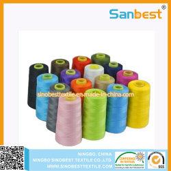 100 % polyester tissée de fils à coudre à haute ténacité