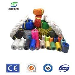 Norma DA UE DE PP/PE/PEAD/náilon/polietileno/polipropileno/poliéster/plástico/Torcer torcida/blindagem entrançada/Braid/Pesca/Marine/Mooring/corda de embalagem