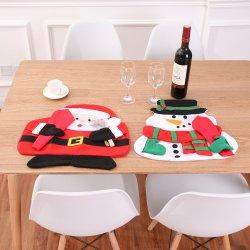 De Mat van de Lijst van de Sneeuwman van de Kerstman van het Festival van Kerstmis van de Decoratie van het Huis van Kerstmis