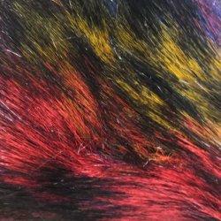 Stof Van uitstekende kwaliteit van het Bont van Faux van de Stapel van het Haar van de Pluche van het Kostuum van de Eenhoorn van de Fabriek van China de Pluizige Lange