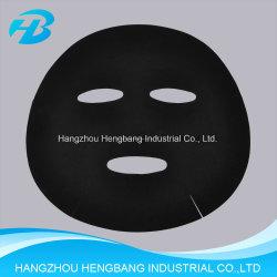 Cuidado de Piel Non-Woven Cupro Tencel Negro Máscara de la hoja de cara
