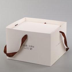 """Kundenspezifischer Karten-Nahrungsmittelgrad 6 des Drucken-350g weißer 8 10 12 """" Inchs Geburtstag-Tortenschachtel-Verpacken"""