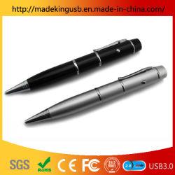 Lápiz láser con una unidad flash USB Flash Drive (USB 2.0/USB3.0)