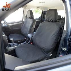 Elásticas Carro tampa do assento preto Universal carro personalizado tampas de assento para Auto