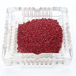 Resina plástica vermelha reciclado grânulos de plástico para PLA/EPT/como/POM/PMMA/PA66