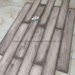 8mm炭化されたデザイン木製の床HDF AC4 AC5のV溝の積層物か薄板にされたフロアーリング