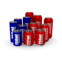 lo schiocco di alluminio 18cl/20cl/25cl/33cl/50cl può con i disegni per le bevande dell'imballaggio