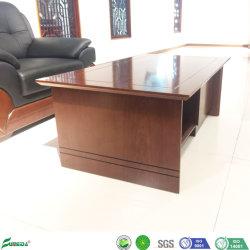 Retângulo Cor clássica de madeira 1.2meter Sofá, mesa de chá