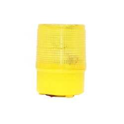 Lampe d'avertissement de trafic solaire LED lampe de feu de sécurité d'urgence
