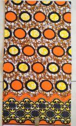 Stof van de Druk van de Batik van de Polyester van 100% de Afrikaanse
