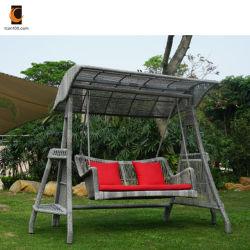 Устойчивы к царапинам оптовая торговля мебелью высокого качества сад PE плетеной стул поворотного механизма (SW02003)