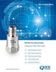 圧電気加速センサーの加速度計1の軸線の振動トランスデューサーの温度センサ