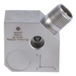 Capteur de vibrations industrielle de l'accélération triaxiale