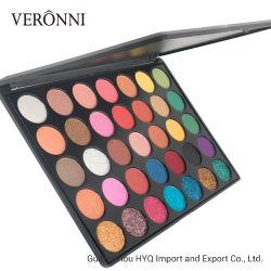 Toute nouvelle Palette de maquillage Ombre de l'oeil nu 35 couleurs Palette Maquillage naturel Shimmer Pigment métallique de la beauté des femmes Ombre à paupières en poudre 35gc