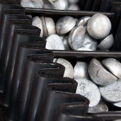 Para-lama nas correias transportadoras para Química Alimentar com cabo de aço