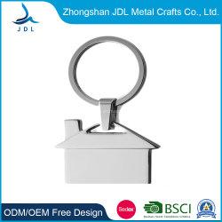 普及した卸し売り安い費用の金属の keychain を広告するための方法家の形の設計キーチェーン (52)
