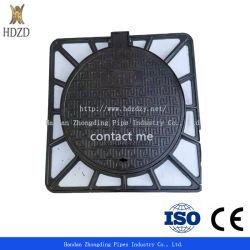 Roheisen-duktiler Eisen-Einsteigeloch-Deckel und Rahmen der Qualitäts-SMC mit 120 Grad für Lieferung