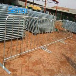 Événement de trafic d'acier peint avec barrière de contrôle des foules Barricade de roue