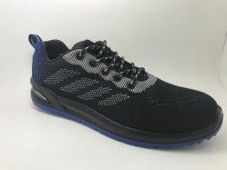 S1p أحذية السلامة الرياضية للرجال في الصين Flyknit الوزن الخفيف العلوي أحذية السلامة أحذية العمل أحذية عالية الجودة سعر تنافسي صناعي سن5920