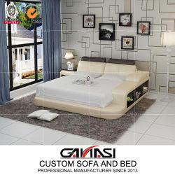 Base moderna Kingsize della mobilia domestica europea del salone con il basamento di notte