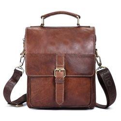 Натуральная кожа Crossbody малых Satchel портфель дамской сумочке