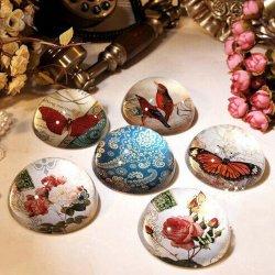 De gepersonaliseerde Gift van het Huwelijk van de Gift van Kerstmis van de Bal van het Glas van het Kristal Ornamentclear Halve