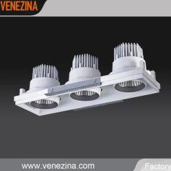 Hohe Leistung 3*50W CREE-PFEILER LED vertiefter justierbarer Scheinwerfer
