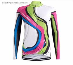 Le transfert d'impression numérique en 3D Dry Fit veste de Vêtements de Cyclisme Vélo circonscription T-Shirt T-Shirt de sport