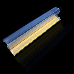 Strisce di plastica di dati del PVC Shelfs del supermercato con adesivo