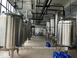 El etanol del depósito de extracción con disolventes orgánicos para la industria de procesamiento de aceite de cáñamo cdb