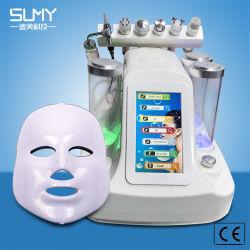Draagbare 7 in 1 Apparatuur van de Schoonheid van de Opheldering van de Ultrasone klank van Hrdra Gezichtsrf van de Schil van de Zuurstof Gezichts