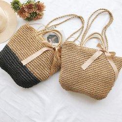Пляж соломы ручной работы пакет марокканских женщин взять на себя дамской сумочке