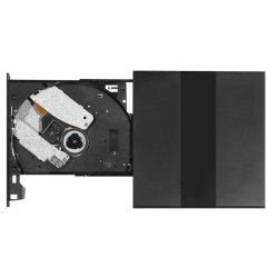 Plastikform für Schreiber-Plastikshell External USB2.0 CD-ROMDVD das bewegliche CD-ROMschwarze (kompatibel mit Win7/8/10/XP/Apple MAC Doppelsystem/dB75-Plus)
