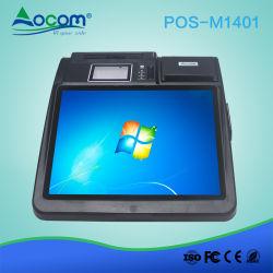 14pouces Machine de bureau Windows tout en un seul écran tactile Terminal de Paiement de pari POS