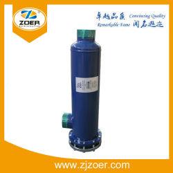 Filtro de acero de color azul de pelo Core Shell para líquido y tubería de aspiración (ZRB-30025)