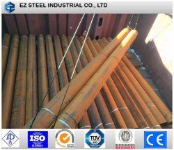 La norma ASTM A252 Gr. 3/S355JR Big Size SSAW LSAW/MS/tubo de acero galvanizado Tubular Montón con recubrimiento PE/3 para la construcción de pilotes