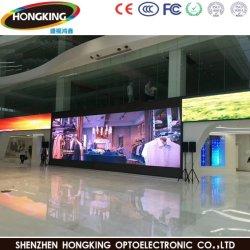 Display pubblicitario a LED da parete con sfondo per esterni P4 HD con Mbi5124IC