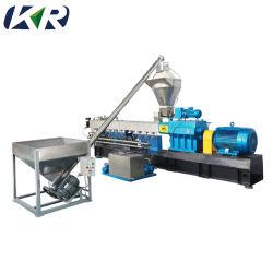Granules de plastique Pelletizer compoundage de la machine à double vis
