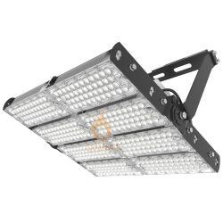 160lm/W는 고성능 옥외 공항 경기장 점화 100W 200W 300W 400W 600W 800W 1000W 1500W를 위한 조정가능한 LED 높은 돛대 플러드 빛을 방수 처리한다