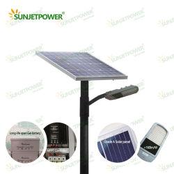 Jinko Solar Panel Stable을 갖춘 MPPT 컨트롤러가 장착된 60W Solar LED Street Light를 하나의 Solar Lamp Integrated Solar Street Light보다 쉽게 설치할 수 있습니다