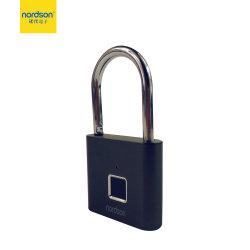 Het hoge Hangslot van de Scanner van de Vingerafdruk van de Deur van het Kabinet van de Kast van de Zak van de Last van de Combinatie USB van de Legering van het Zink van het Bewijs van het Water van de Veiligheid Slimme Biometrische