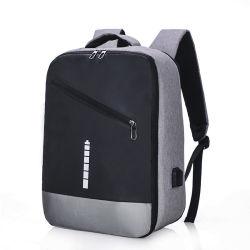 Nuevo Llega con estilo, con puerto USB portátil empresarial Antirrobo mochilas
